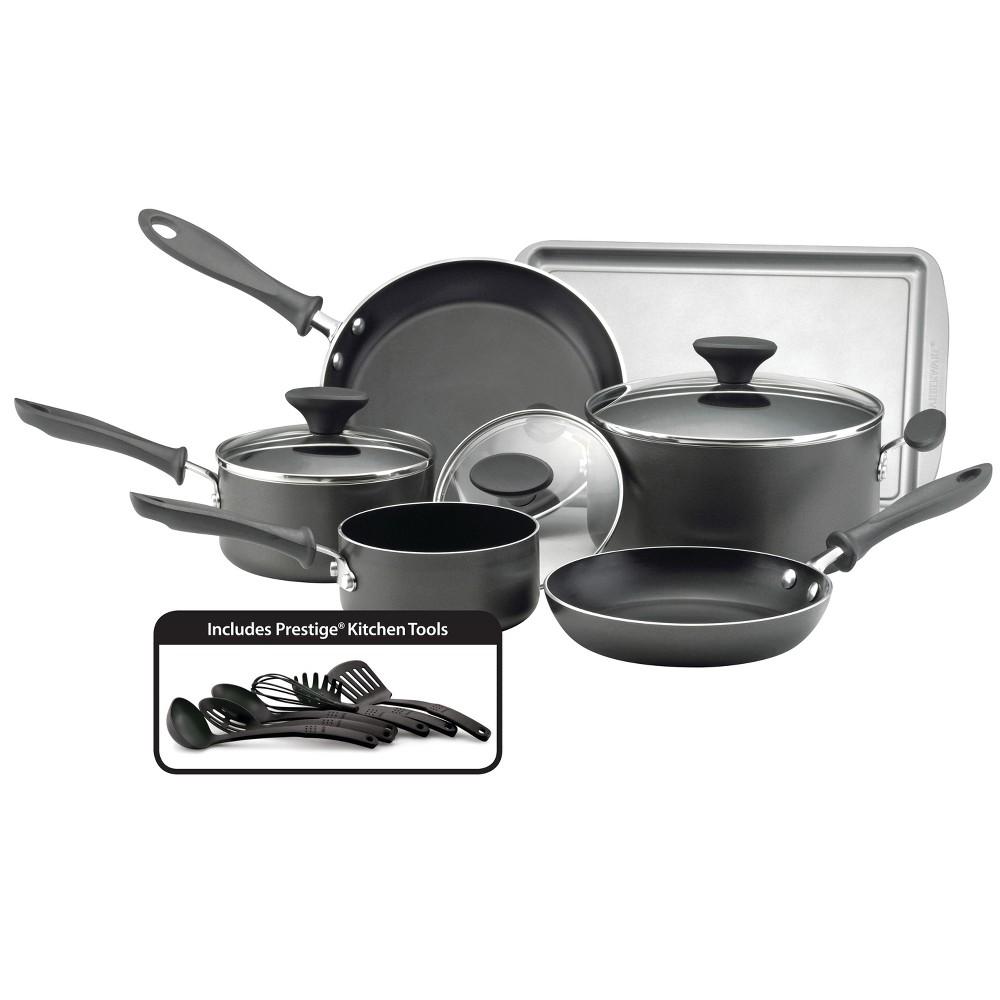 Image of Farberware Reliance 15pc Cookware Set Black