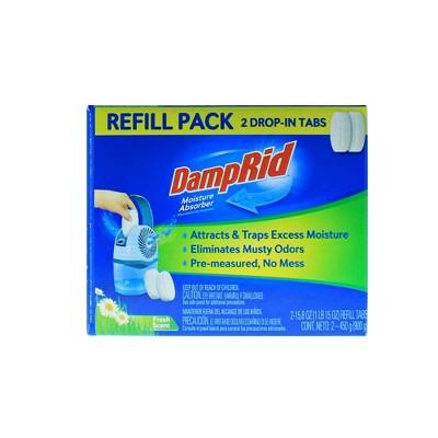 DampRid Drop-In Container Refills - 2ct