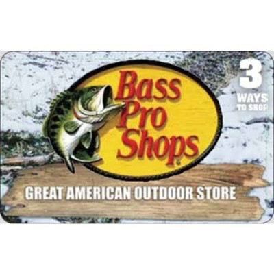 Bass Pro Shops® $25 (Email Delivery)