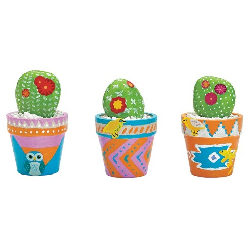 Creativity for Kids Cactus Rocks Craft Kit - image 1 of 4