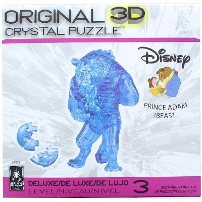 University Games Disney The Beast 49 Piece 3D Crystal Jigsaw Puzzle