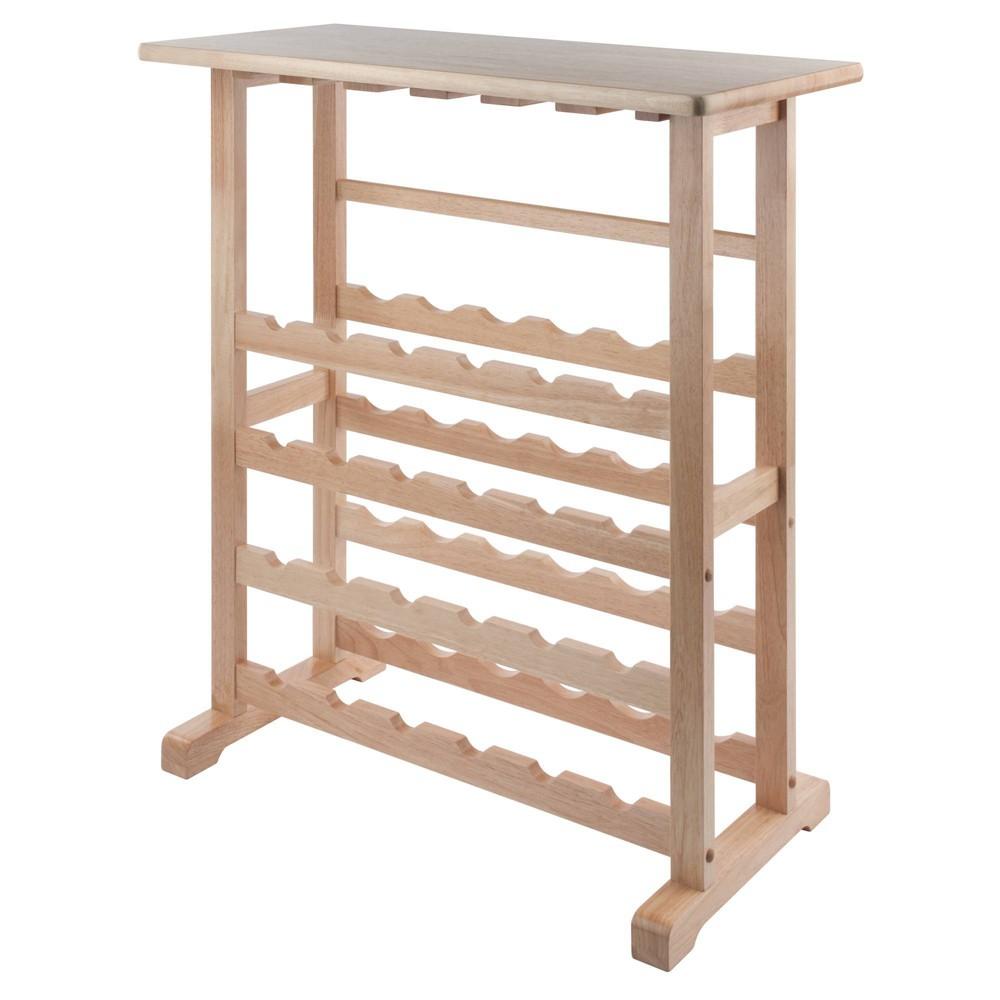 Image of 24-Bottle Wine Rack Wood/Beechwood - Winsome