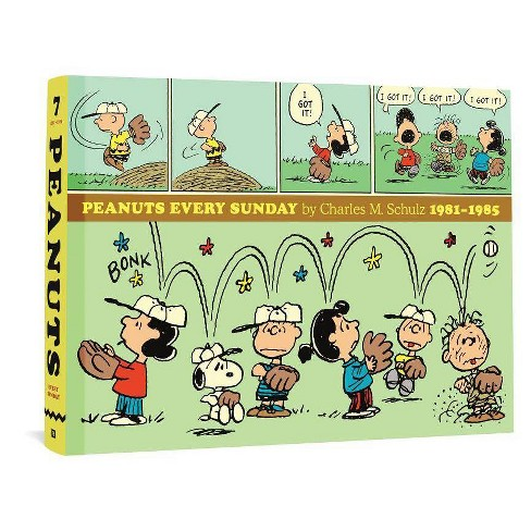 Peanuts Every Sunday 1981-1985 - by  Charles M Schulz (Hardcover) - image 1 of 1