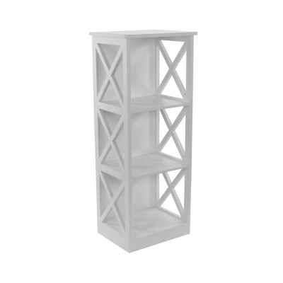 Contemporary 3 Tier Wooden Shelf - Olivia & May