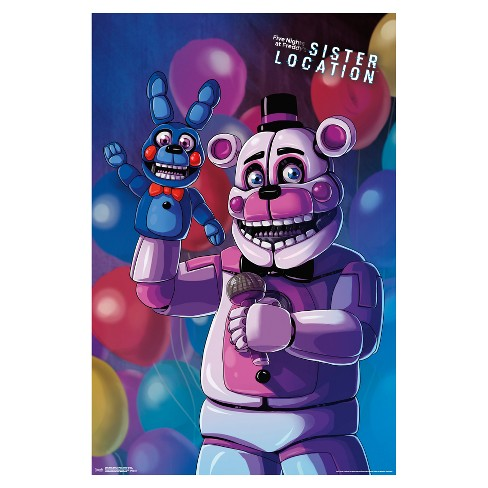 Five Nights at Freddy's Sister Location Funtime Freddy Poster 34x22 - Trends International - image 1 of 2