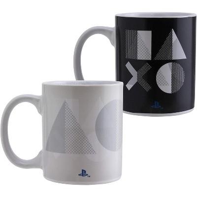 Paladone Products Ltd. PlayStation PS5 Heat Change 10 Ounce Ceramic Mug