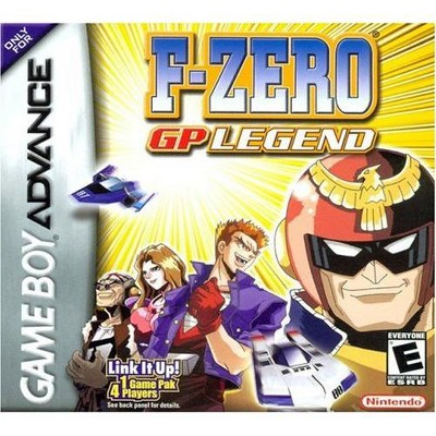 F-Zero: Gp Legend - Game Boy Advance
