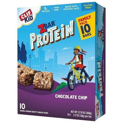 CLIF Kid ZBAR Protein Chocolate Chip Snack Bars