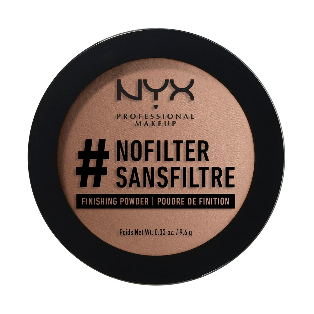 Nyx Professional Makeup #nofilter Finishing Powder Cocoa (Brown) - 0.33oz