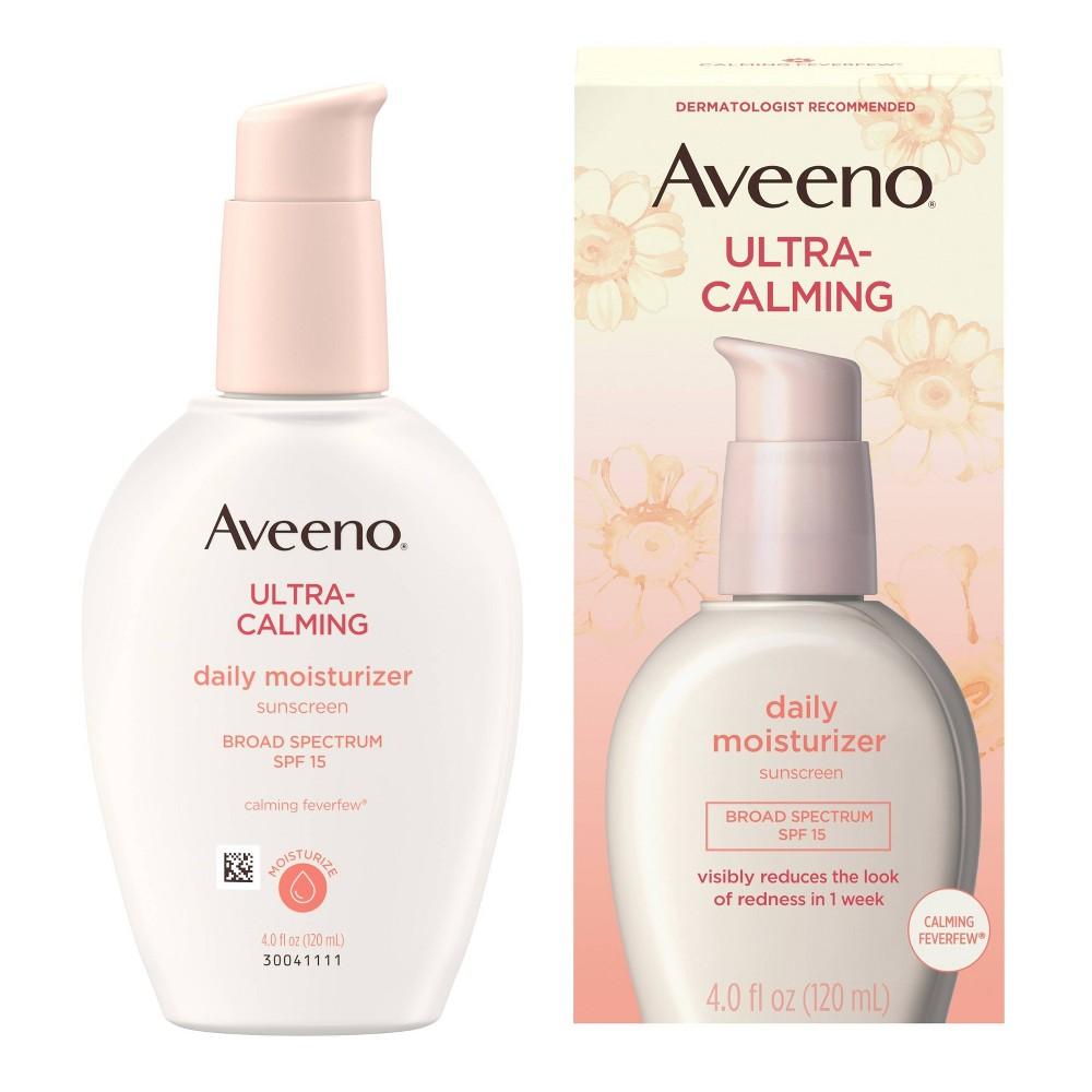 Image of Aveeno Ultra-Calming Daily Moisturizer Sunscreen - SPF 15 - 4 fl oz