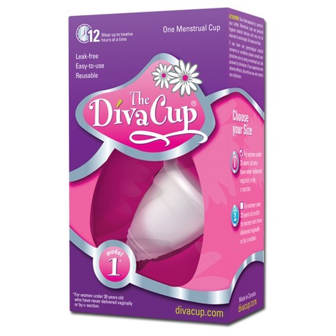 The Diva Cup Menstrual Cup 1ct Model 1 Target