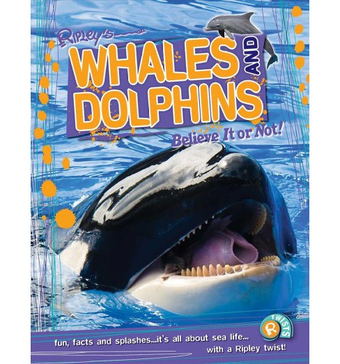Whales and Dolphins -  by Camilla La Bedoyere (Paperback) - image 1 of 1