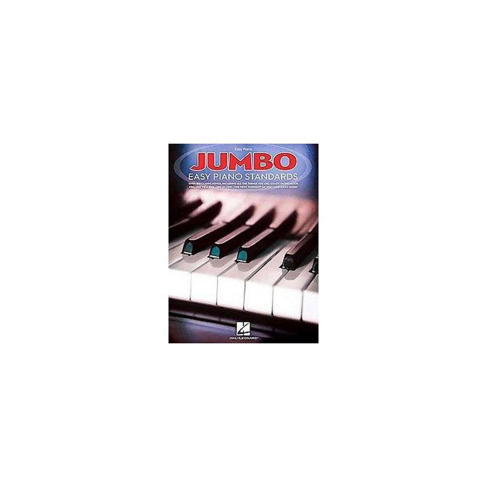 Jumbo Easy Piano Standards (Paperback)