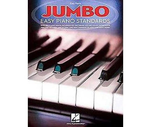 Jumbo Easy Piano Standards (Paperback) - image 1 of 1