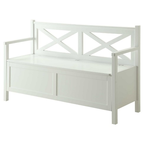 Enjoyable Oxford Storage Bench White Johar Furniture Andrewgaddart Wooden Chair Designs For Living Room Andrewgaddartcom