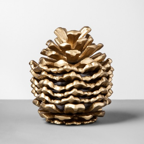 Pinecone Coaster Set - Gold - Hearth & Hand™ with Magnolia - image 1 of 4