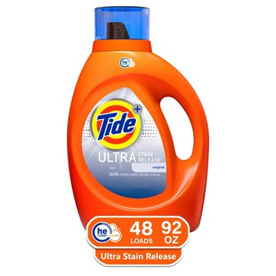 Tide Ultra Stain Release High Efficiency Liquid Laundry Detergent - 92 fl oz