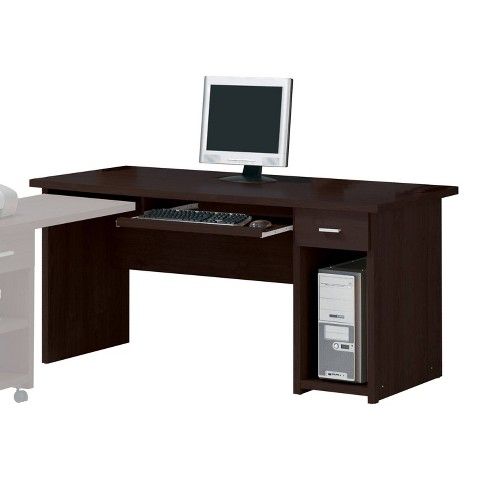 Linda Computer Desk with Drawer Espresso Brown - Acme - image 1 of 1