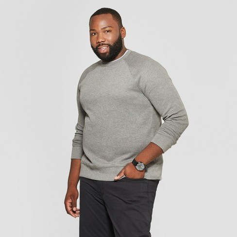 Men's Tall Standard Fit Long Sleeve Waffle Thermal T-Shirt - Goodfellow & Co™ Gray MT - image 1 of 3