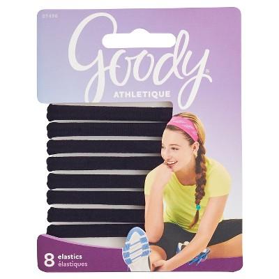 Goody Athletique Sweat Stretch Elastics - 8ct