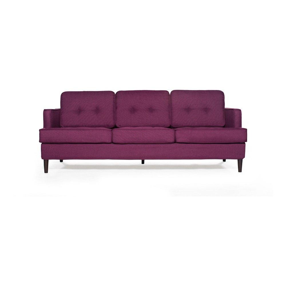 Durham Sofa Plum (Purple) - Sofas 2 Go