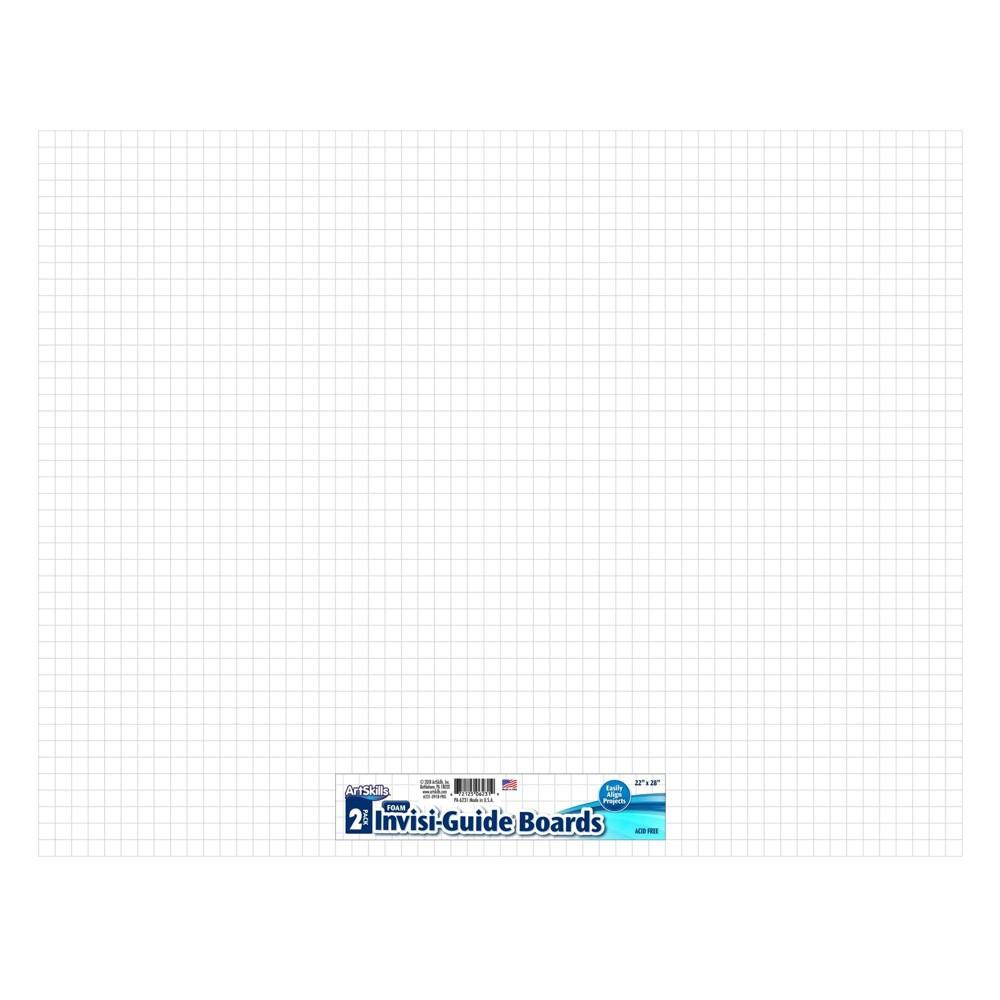 Image of ArtSkills 2pk Invisi-Guide Presentation Board, White