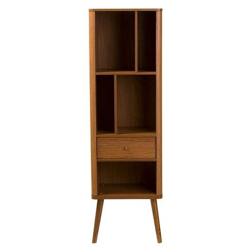 Ellingham Mid Century Retro Modern Sideboard Storage Cabinet Bookcase Organizer