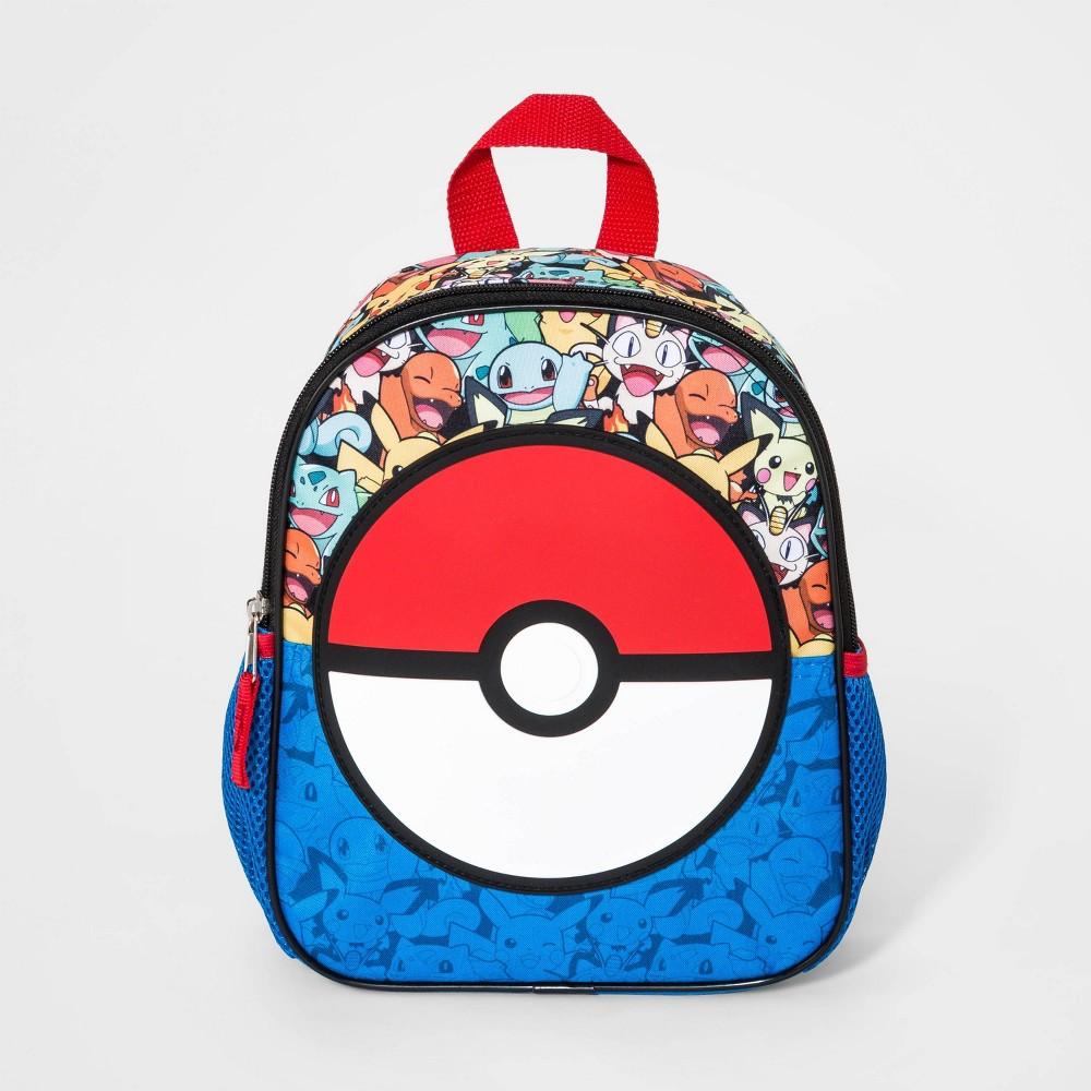 Boys 39 Pokemon Pokeball Mini Backpack