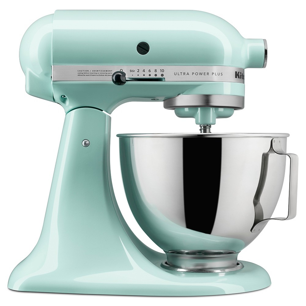 KitchenAid Ultra Power Plus 4.5qt Tilt-Head Stand Mixer Ice Blue – KSM96 51160154