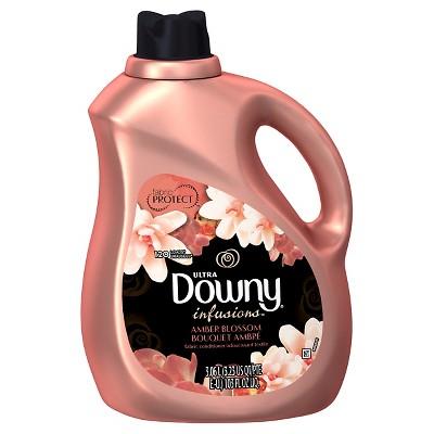 Downy Infusions Amber Blossom Liquid Fabric Softener - 103 fl oz