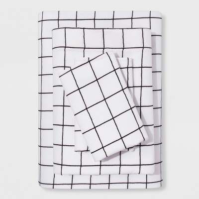 Queen Sheet Set Modern - Windowpane - Project 62™ + Nate Berkus™