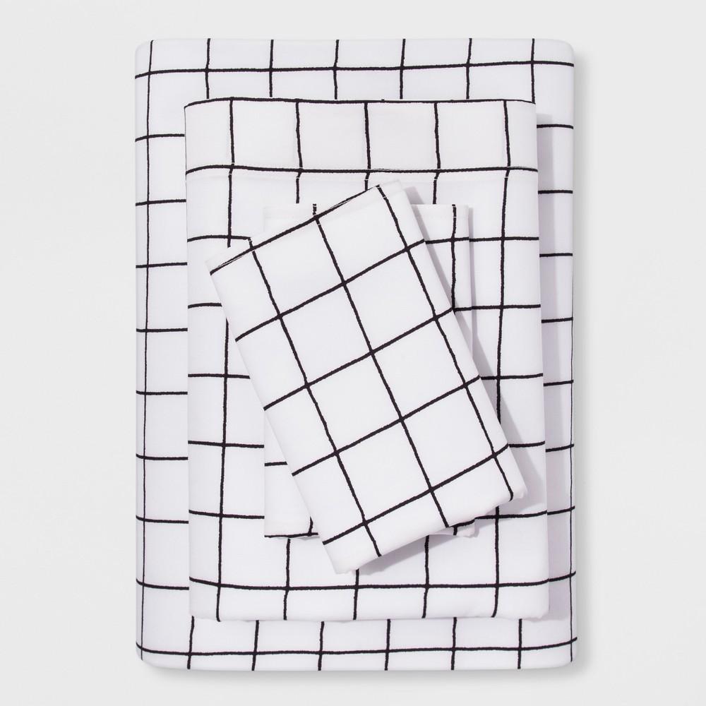 King Sheet Set Modern - Windowpane - Project 62 + Nate Berkus