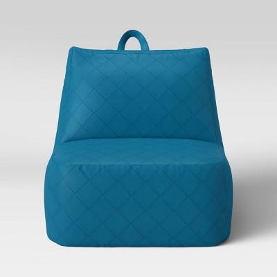 Kids' Lounge Chair Aqua - Pillowfort™