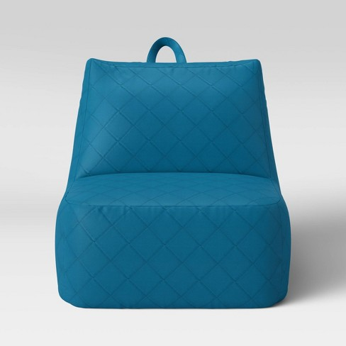 Amazing Kids Lounge Chair Aqua Pillowfort Inzonedesignstudio Interior Chair Design Inzonedesignstudiocom