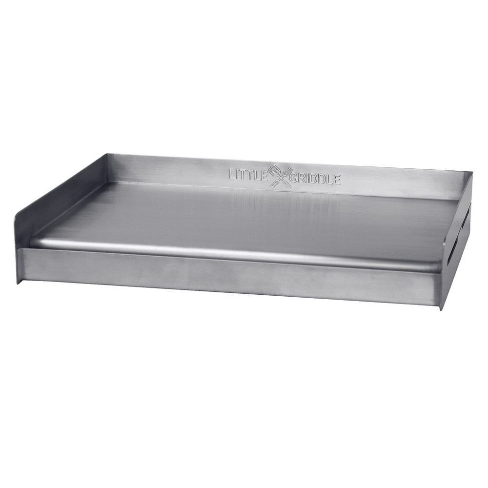 Image of Sizzle - Q Stainless Steel Universal Barbecue Griddle - Stainless Steel - Little Griddle