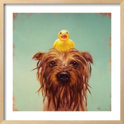 Bath Time By Lucia Heffernan Framed Wall Art Poster Print 25 x25  - Art.com