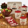 3pc Earthenware Farmhouse Canister Set White - Certified International - image 2 of 2