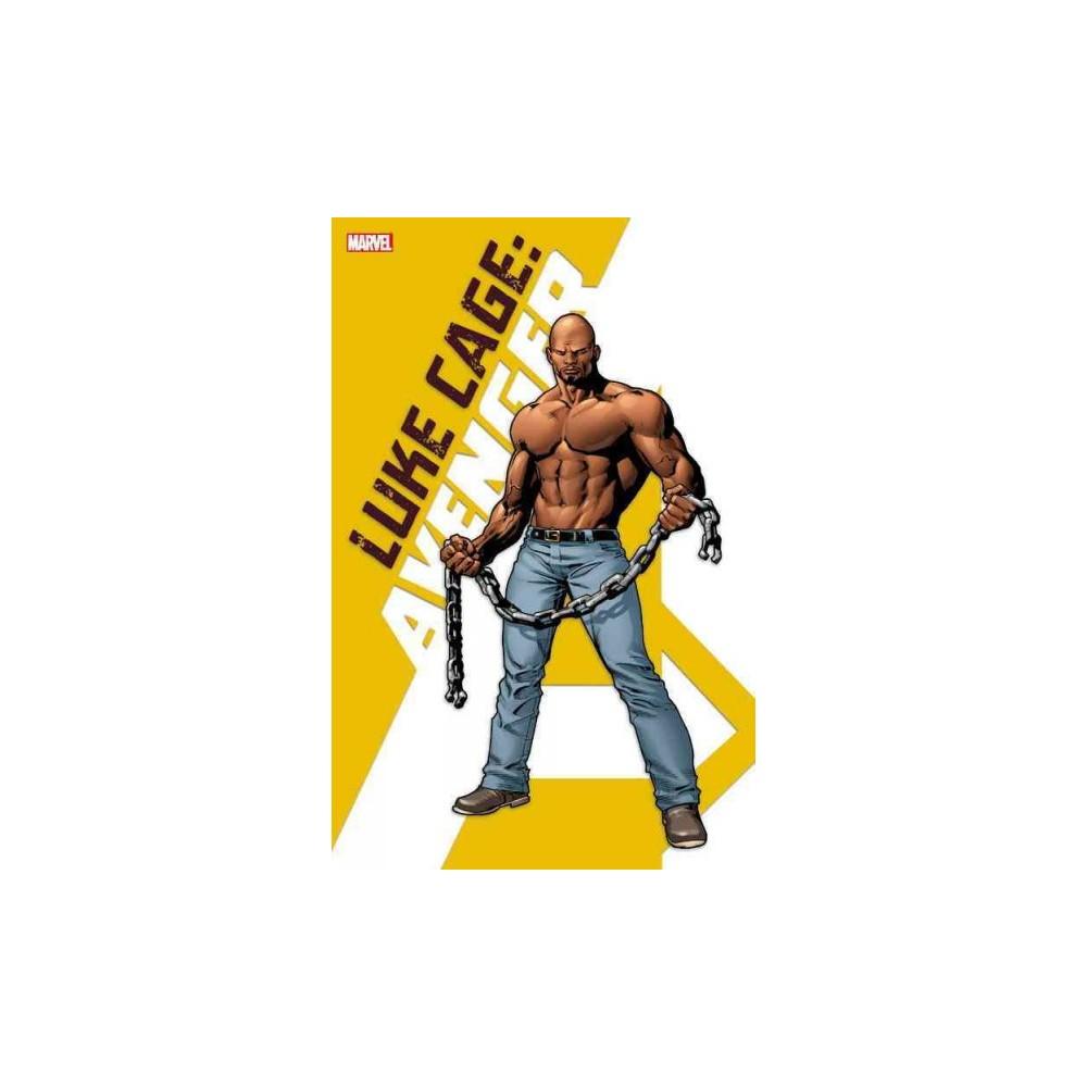 Luke Cage Avenger (Ppbk) - (Luke Cage) Book 17072782 by Adam Glass (Paperback)