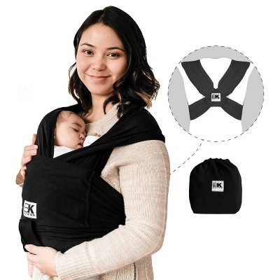 Baby K'tan ORIGINAL Baby Carrier - Black - Medium