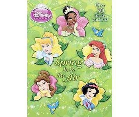 Spring Is in the Air (Paperback) by Disney Rh - image 1 of 1