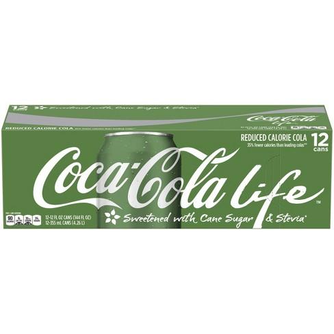 Coca-Cola Life - 12pk/12 fl oz Cans - image 1 of 4