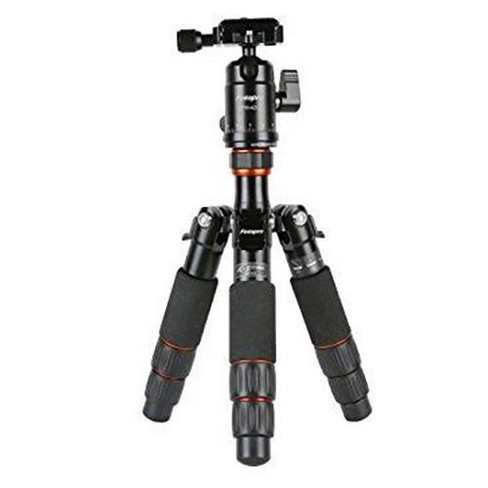 FotoPro X-Go Mini Carbon Fiber Tripod Kit, Includes Ball Head and Quick Release Plate, 17.6 Lbs Capacity - image 1 of 4