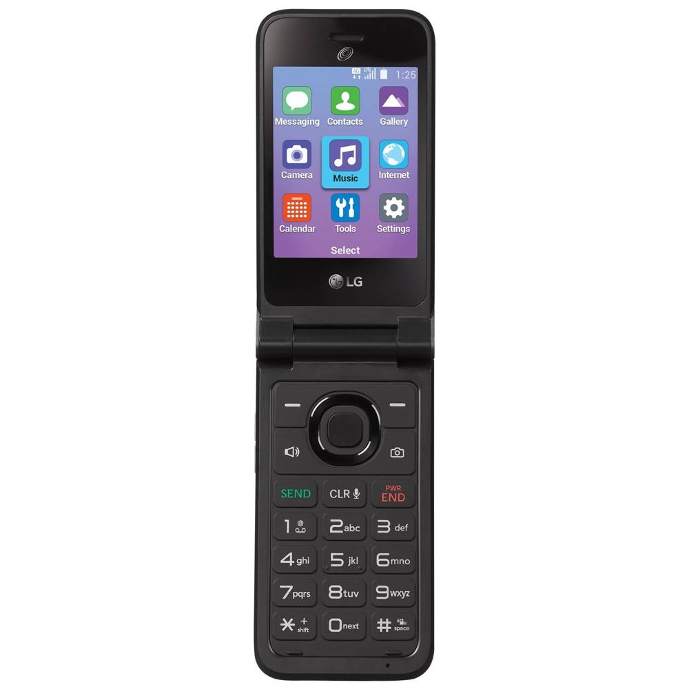 Tracfone Prepaid Lg Classic Flip Phone 8gb Gray