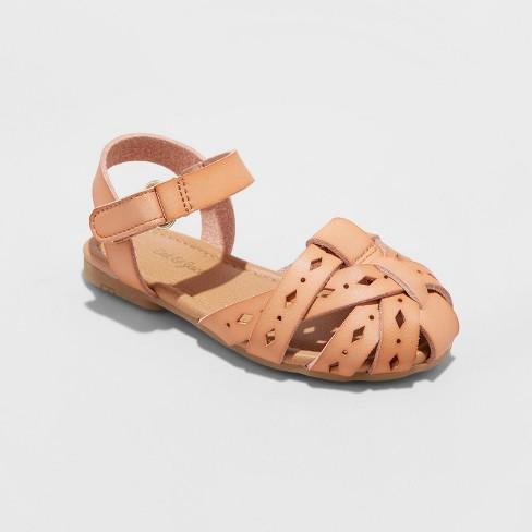 3740c5ec7706 Toddler Girls  Elysia Huarache Sandals - Cat   Jack™ Tan 10   Target