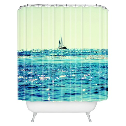 Sailing Shower Curtain - Deny Designs® - image 1 of 1