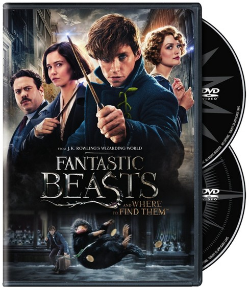 Fantastic Beasts and Where to Find Them (DVD) - image 1 of 1