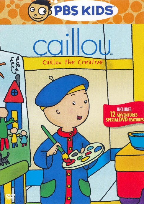 Caillou the creative (DVD) - image 1 of 1