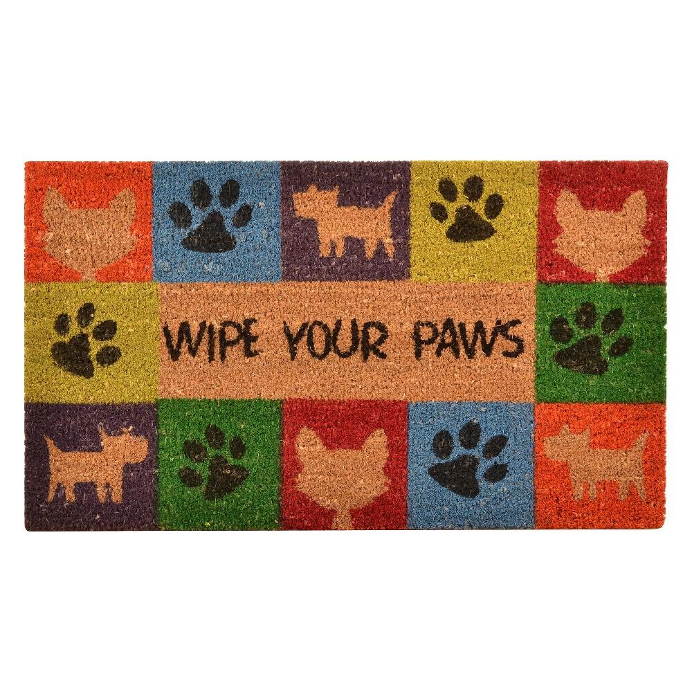 HomeTrax Wipe Your Paws Doormat (18