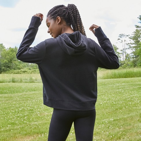 Women's Lightweight Fleece Hoodie - All in Motion™ - image 1 of 4