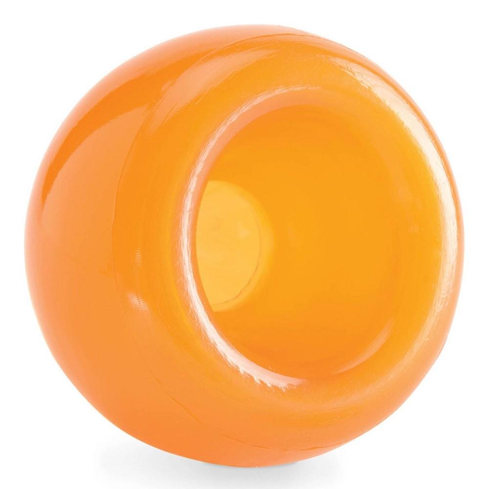 Planet Dog Orbee Tuff Snoop Dog Toy Orange